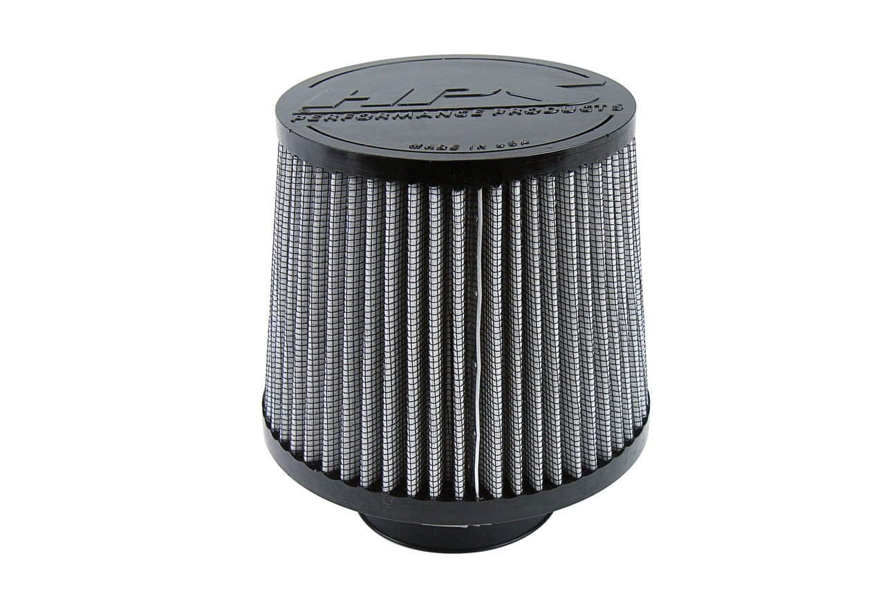 HPS Performance Air Filter 2.75 inch ID, 6 inch Length universal replacement intake kit shortram cold ram HPS-4275