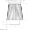 "HPS Performance Air Filter HPS-4275, 2.75"" ID, 6"" Element Length, 7.75"" Overall Length"