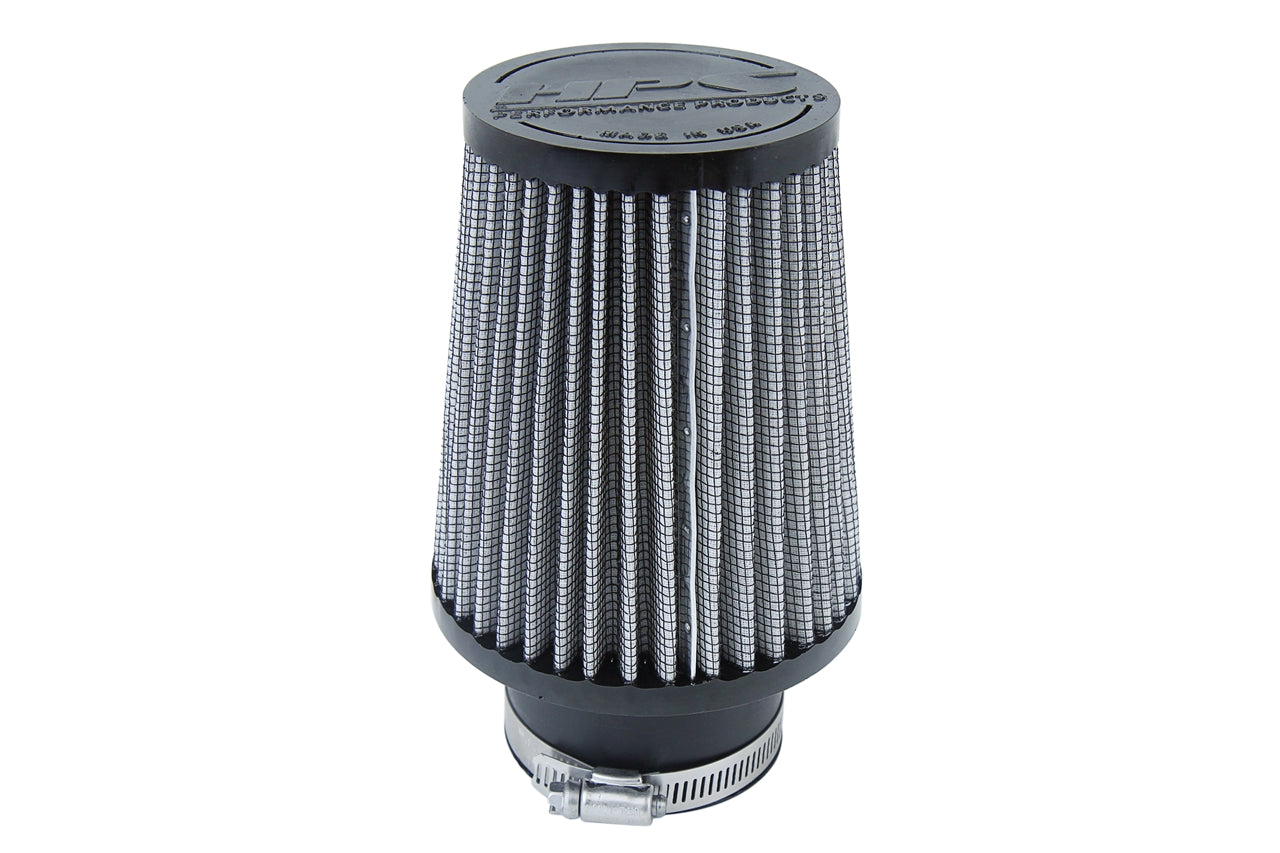 HPS Performance Air Filter 2.5 inch ID, 5.5 inch Length universal replacement intake kit shortram cold ram HPS-4295