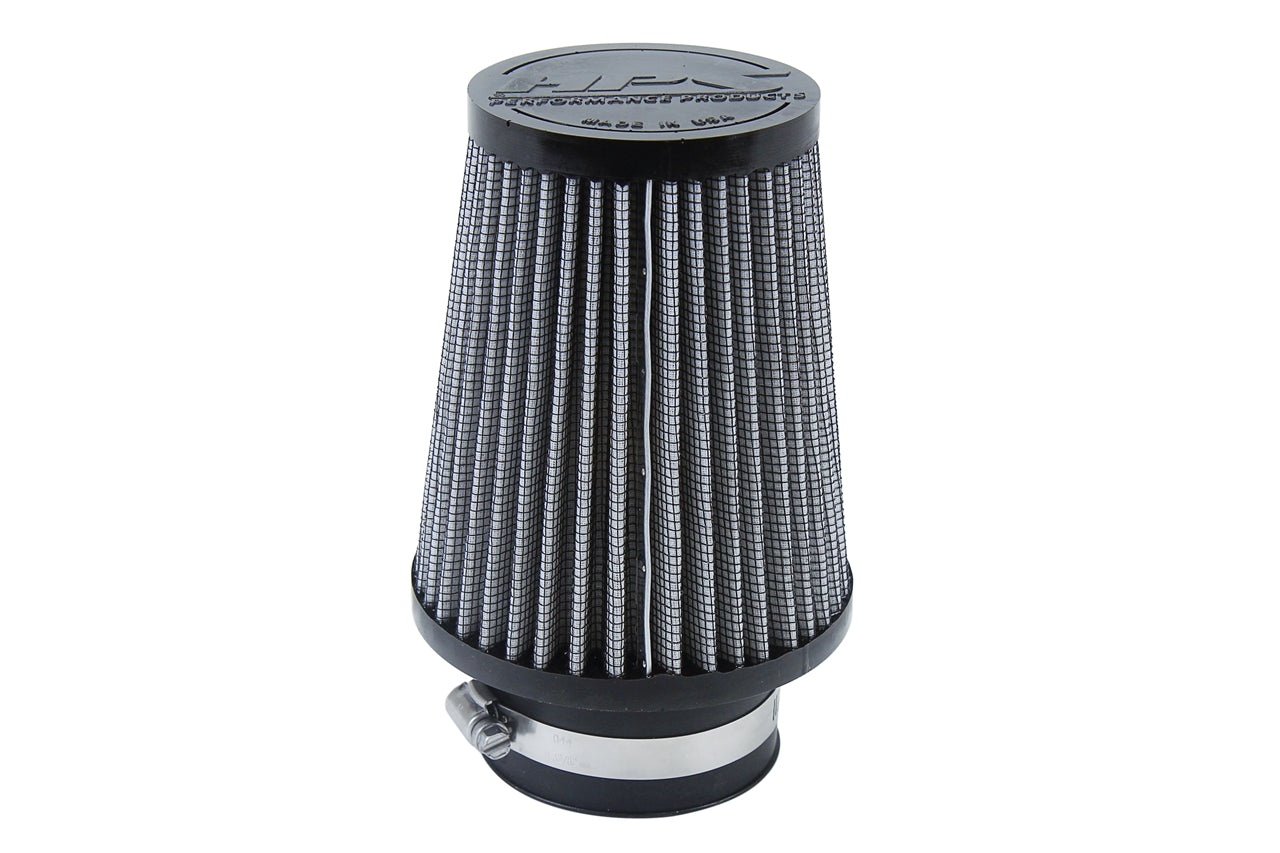 HPS Performance Air Filter 2.75 inch ID, 5.75 inch Length universal replacement intake kit shortram cold ram HPS-4296