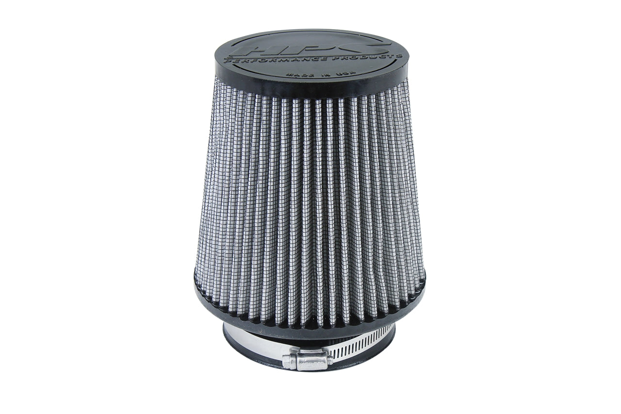 HPS Performance Air Filter 4 inch ID, 6 inch Length universal replacement intake kit shortram cold ram HPS-4300