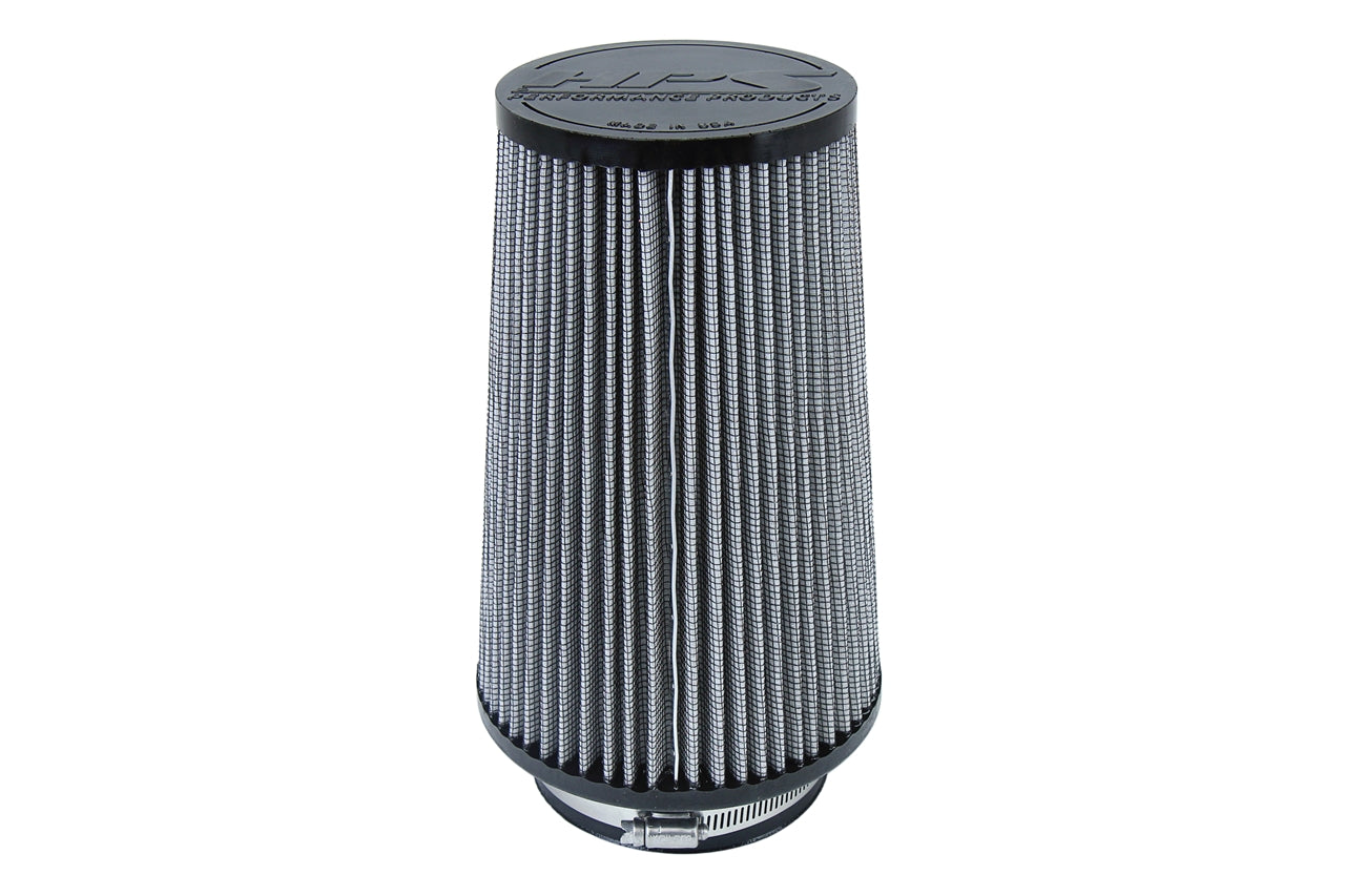 HPS Performance Air Filter 4 inch ID, 9 inch Length universal replacement intake kit shortram cold ram HPS-4301
