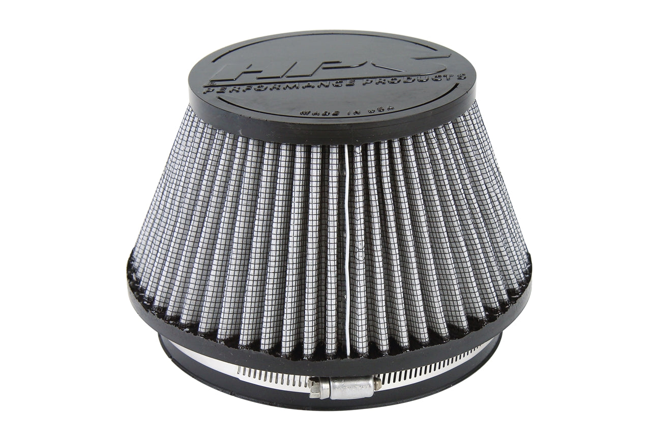 HPS Performance Air Filter 6 inch ID, 4 inch Length universal replacement intake kit shortram cold ram HPS-4302