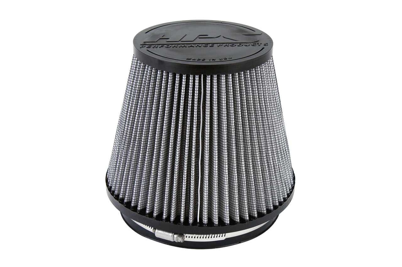 HPS Performance Air Filter 6 inch ID, 6 inch Length universal replacement intake kit shortram cold ram HPS-4303