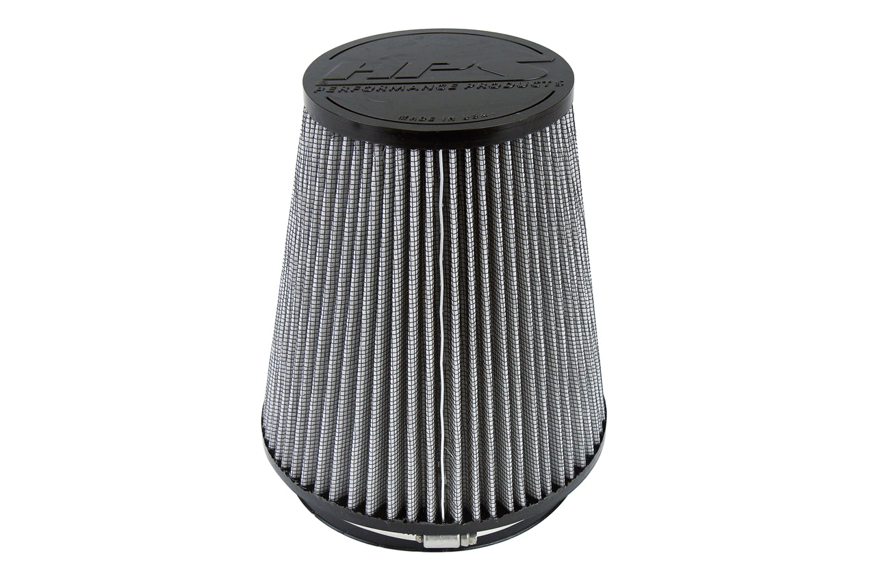 HPS Performance Air Filter 6 inch ID, 6 inch Length universal replacement intake kit shortram cold ram HPS-4304