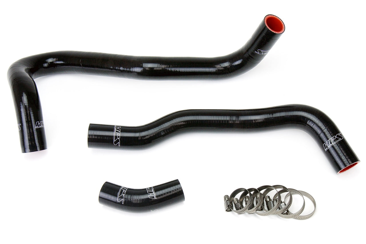 HPS Black Silicone Radiator Hose Kit 2006-2011 Honda Civic Si 57-1021-BLK
