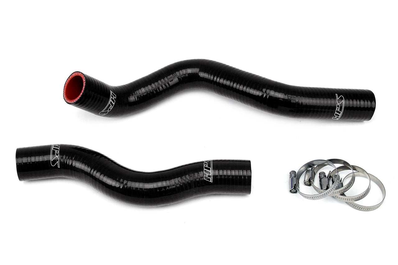 HPS Black Silicone Radiator Hose Kit 2006-2011 Honda Civic R18 57-1022-BLK