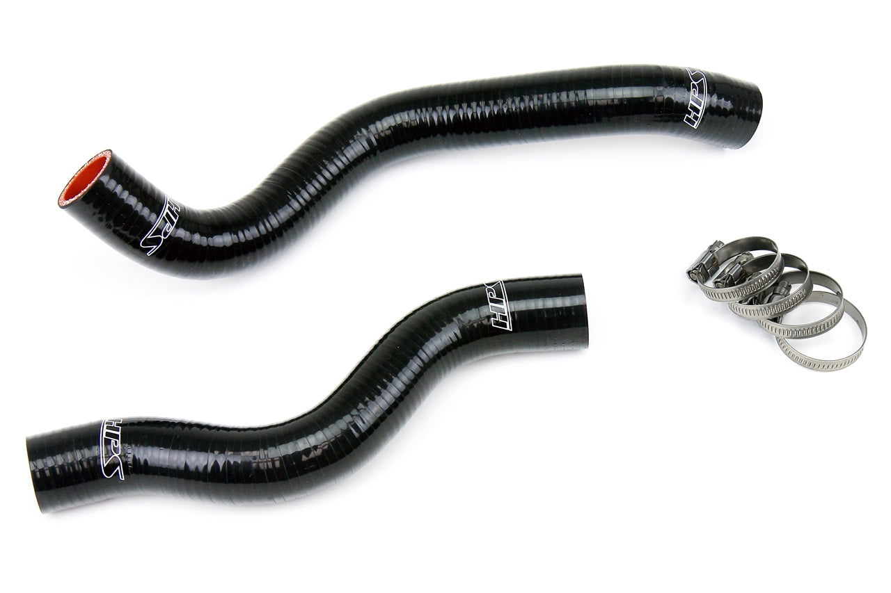 HPS Black Silicone Radiator Hose Kit 2012-2015 Honda Civic 1.8L 57-1200-BLK