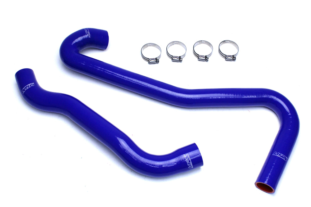 HPS Blue Reinforced Silicone Radiator Hose Kit Coolant Jeep 06-08 Grand Cherokee SRT8 6.1L V8 WK1 57-1453-BLUE
