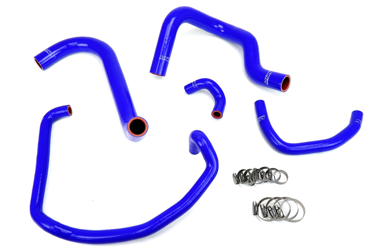 HPS Reinforced Blue Silicone Radiator and Heater Hose Kit Coolant Toyota 95-04 Tacoma 2.4L, 57-1746-BLUE