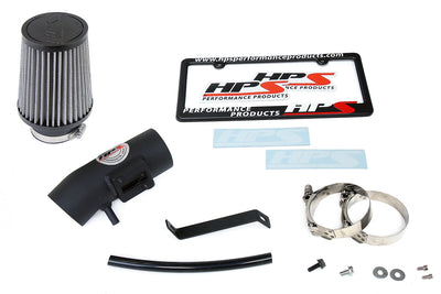 HPS Shortram Air Intake Kit 2009-2013 Honda Fit 1.5L 827-102WB
