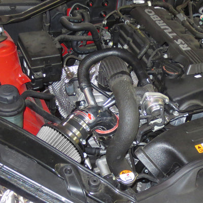 HPS Performance Shortram Air Intake Kit Installed 2013-2014 Hyundai Genesis Coupe 2.0T Turbo 827-201P