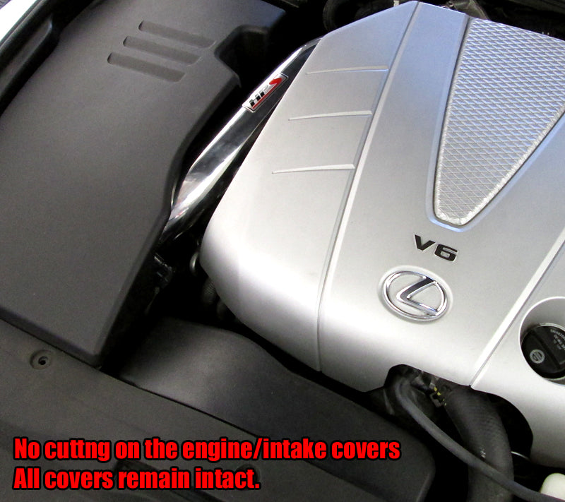 HPS Red Shortram Cool Air Intake Kit For 06-11 Lexus GS350 3.5L V6