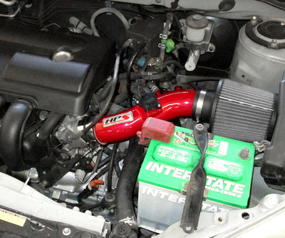 HPS Performance Shortram Air Intake Kit Installed 2003-2004 Toyota Corolla 1.8L 827-513R