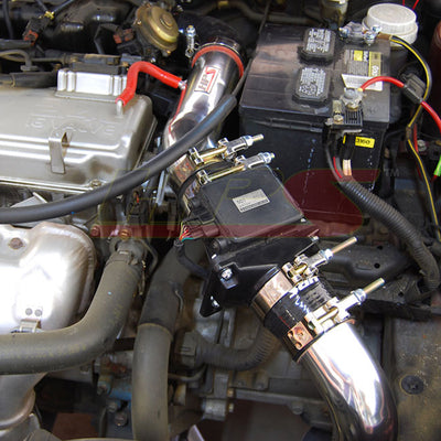 HPS Performance Cold Air Intake Kit Installed 2000-2005 Mitsubishi Eclipse V6 3.0L 837-423WB