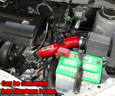 HPS Performance Cold Air Intake Kit 2003-2004 Pontiac Vibe 1.8L installed as Shortram Intake 837-513R