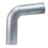 HPS 2.75 inch OD 80 Degree Bend 6061 Aluminum Elbow Pipe Tubing 16 Gauge 2 3/4 inch center line radius