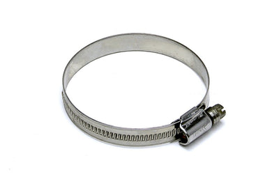 "HPS Stainless Steel Embossed Hose Clamps SAE 80 2pcs Pack 4-5/8"" - 5-1/2"" (117mm-140mm)"