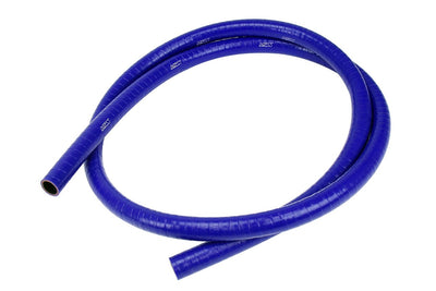 HPS 1/2 inch FKM Lined High Temperature Reinforced Silicone Hose, Blue, 13mm