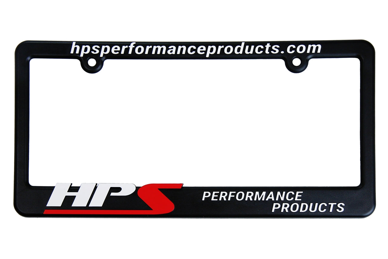 HPS Performance License Plate Frame