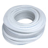 HPS 1/4 inch Clear Braided Silicone Heater Hose Tubing Coolant Overflow Air Tube High Temp Reinforced 6mm HTHH-025-CLEAR