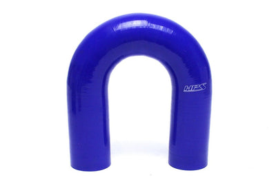 HPS 2-3/4 2.75 inch Blue Silicone 180 Degree U Bend Elbow Coupler Hose High Temp 4-ply Reinforced 70mm HTSEC180-275-BLUE