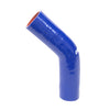 HPS 4-1/2 4.5 inch Blue Silicone 45 Degree Elbow Coupler Hose High Temp 4-ply Reinforced 114mm HTSEC45-450-BLUE