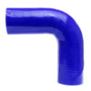 HPS 3-1/2 3.5 inch Blue Silicone 90 Degree Elbow Coupler Hose High Temp 4-ply Reinforced 89mm HTSEC90-350-BLUE