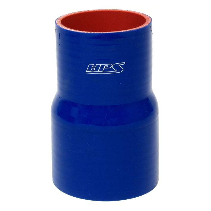 HPS HTSHC-350-BLUE Silicone High Temperature 4-ply Reinforced Straight Hump Coupler Hose 3-1//2 ID 40 PSI Maximum Pressure 3 Length Blue