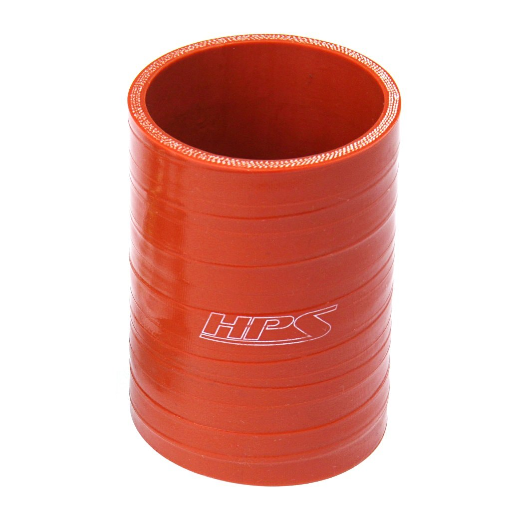 HPS High Temp 4-ply Reinforced 2-3//8  2-1//2 ID x 4 Long Silicone Reducer Coupler Hose Black 60mm  63mm ID x 102mm Length