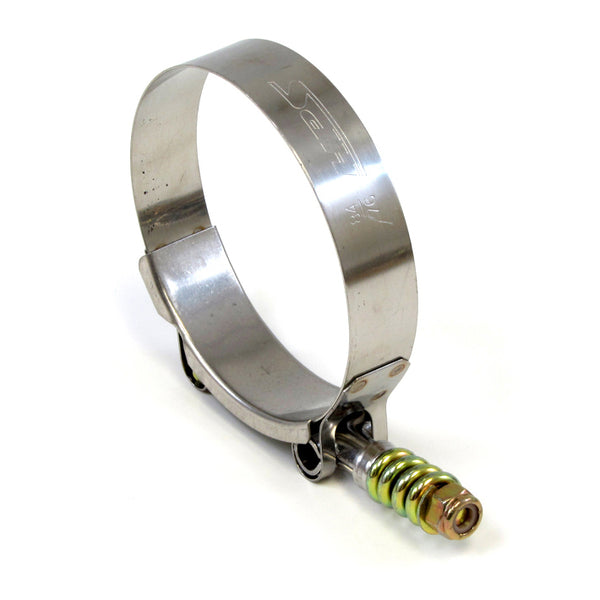 HPS Stainless Steel T-Bolt Hose Clamp Size # 236 fit 8 ID Hose Range: 8.25-8.56 Set of 2