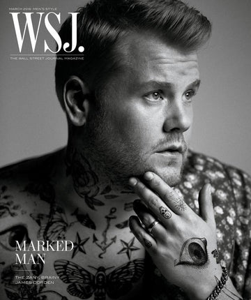 JAMES CORDEN IS NAKED AND HAPPY.
