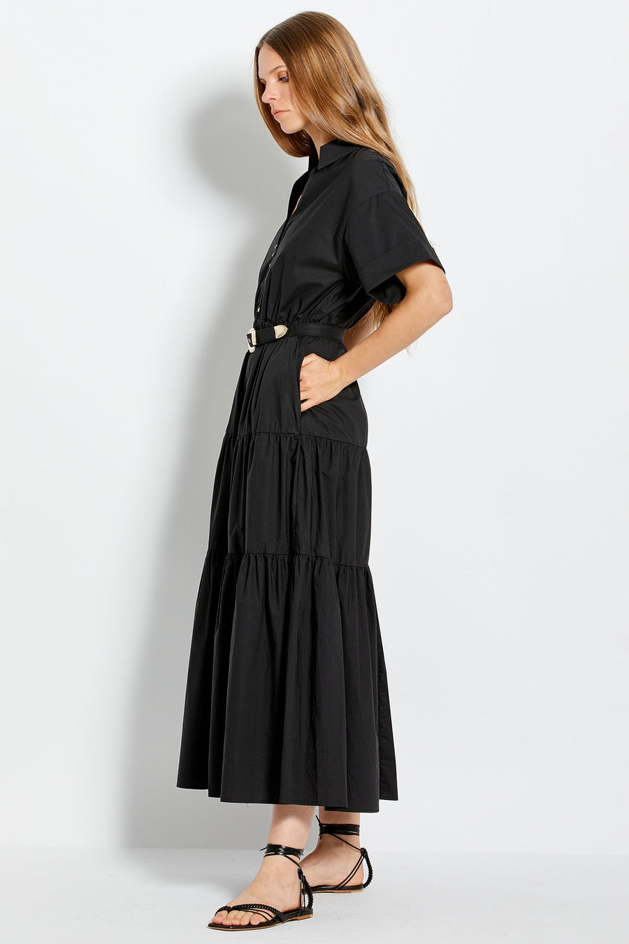 Amina Dress - Black