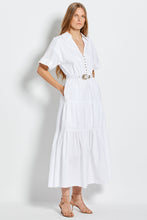 Amina Dress - White