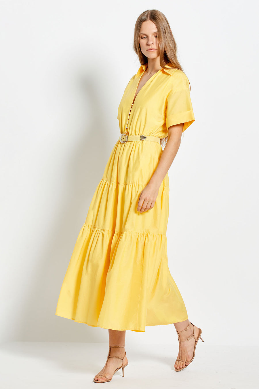 Amina Dress - Sunflower