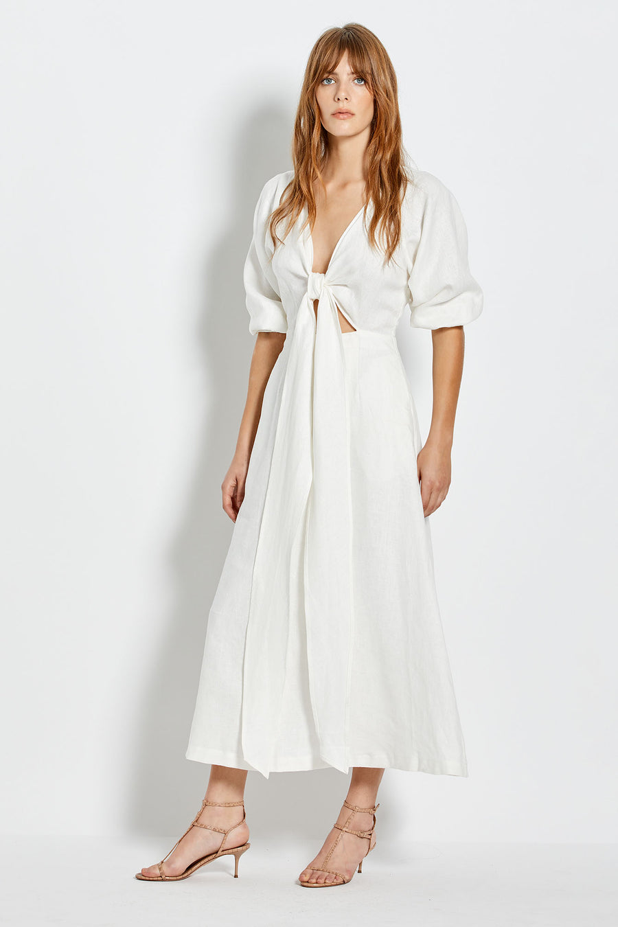 Asilah Dress - White
