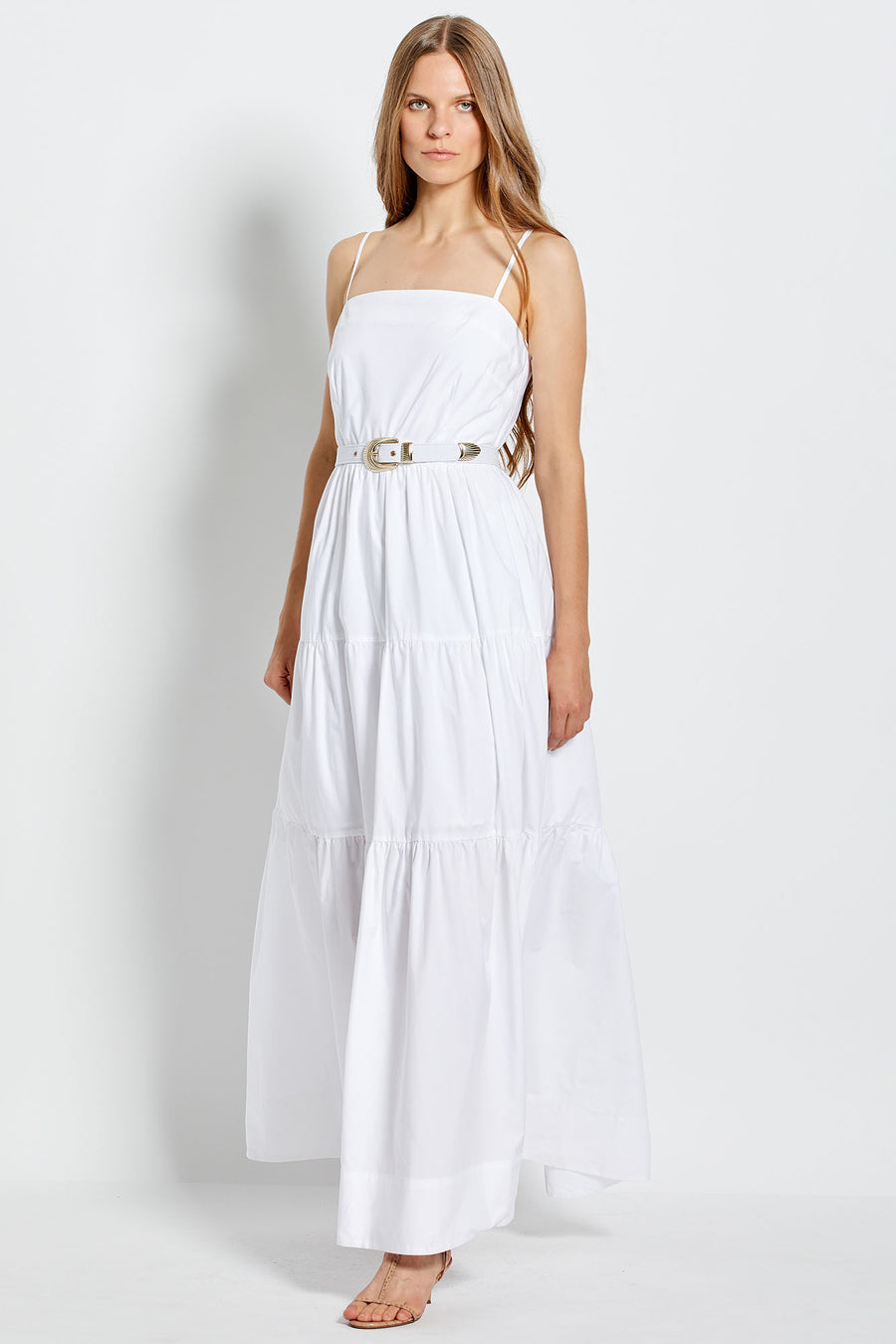 Kerala Dress - White