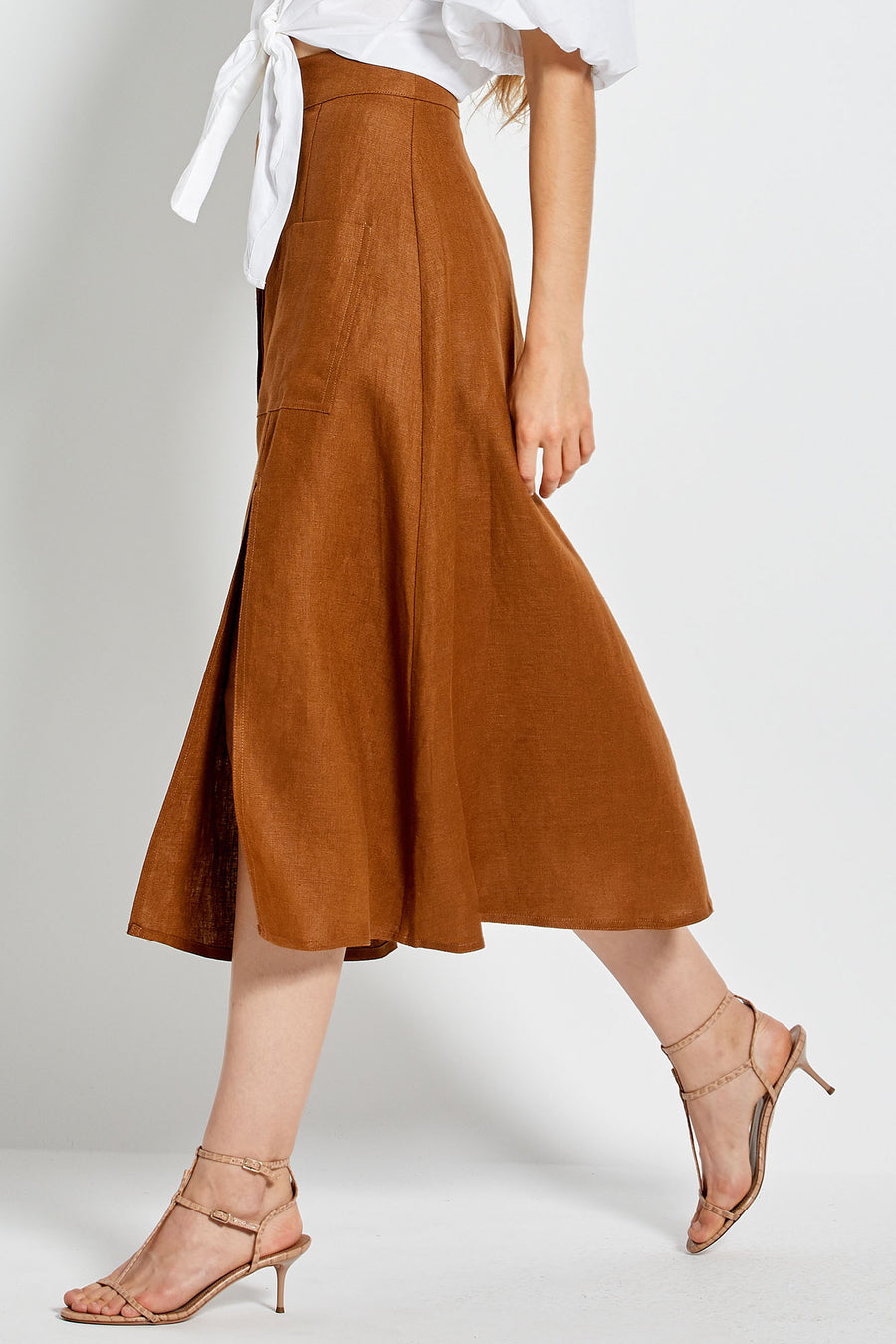 Masala Skirt - Tobacco