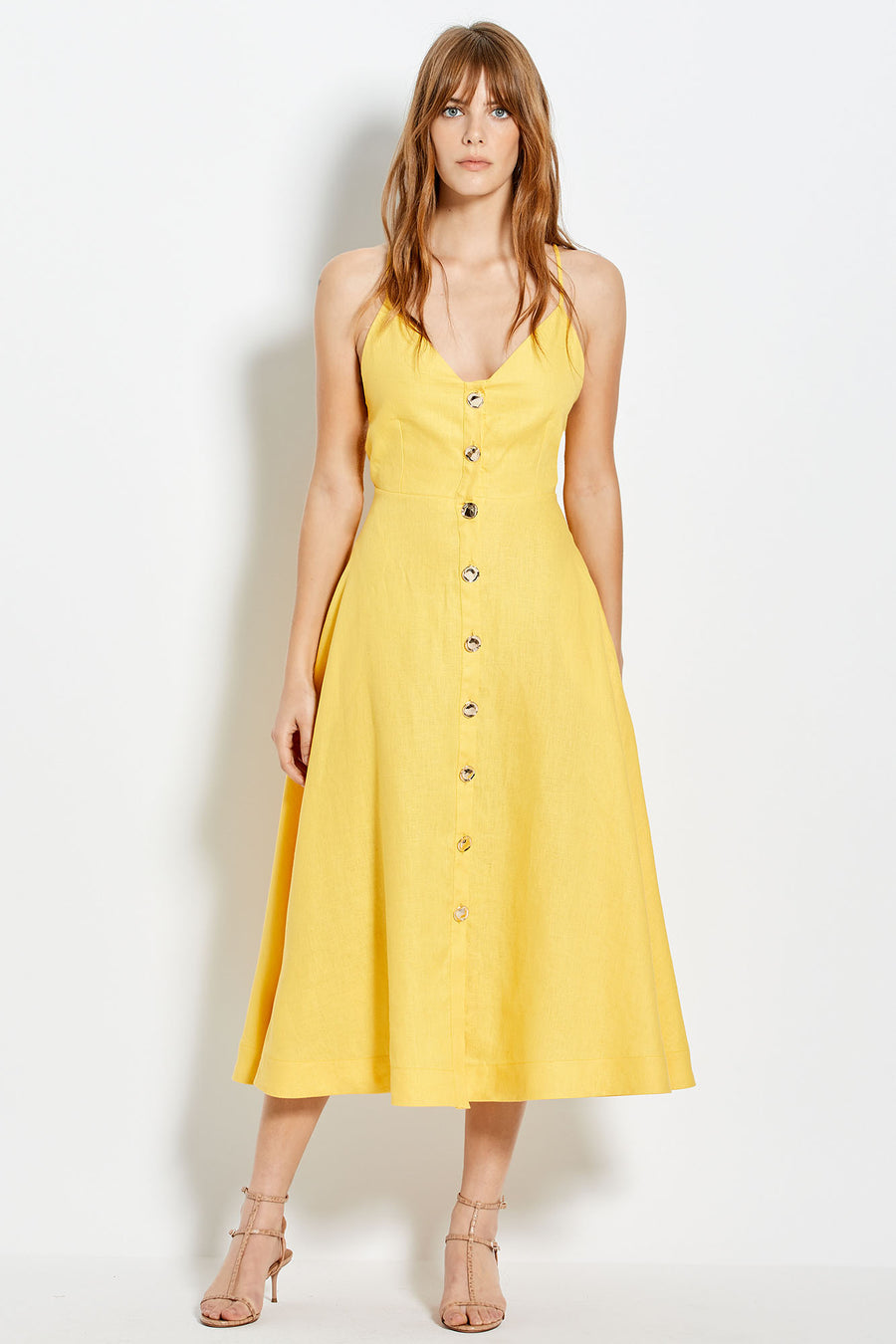 Orissa Dress - Sunflower