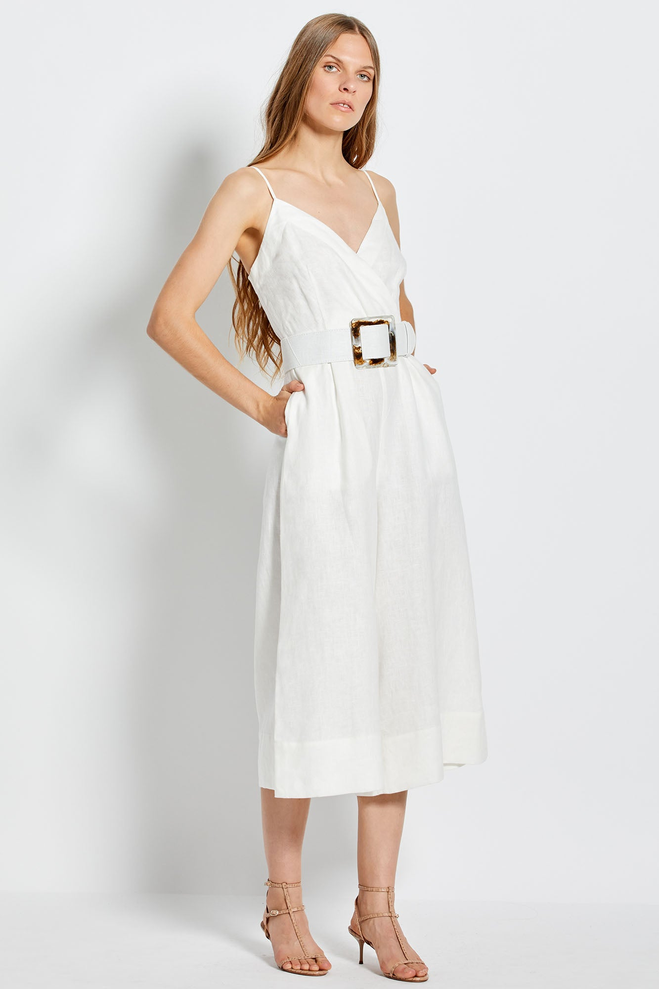 Seta Jumpsuit - White