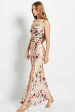Simone Dress - Watercolor Floral - Taupe