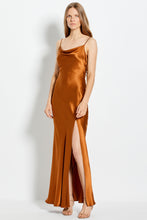 Simone Dress - Bronze