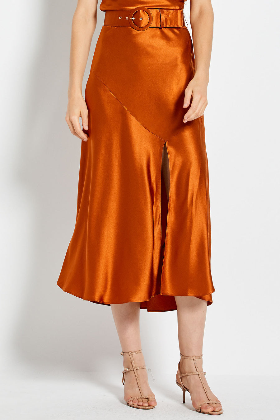 Simonetta Skirt - Copper