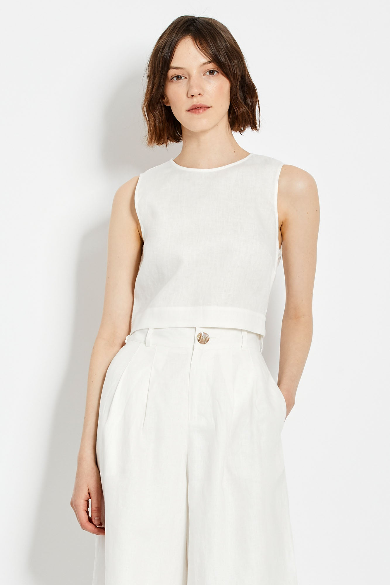 Alyssa Top - White