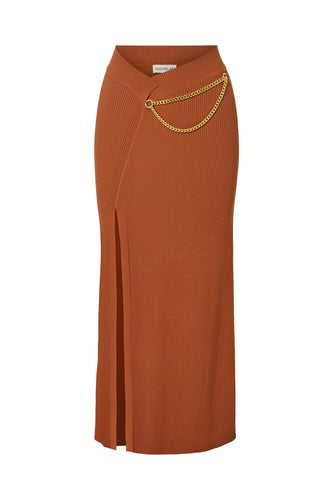 Gisele Skirt - Terracotta