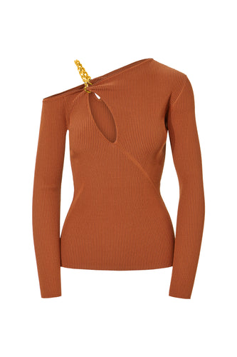 Paloma Top - Terracotta