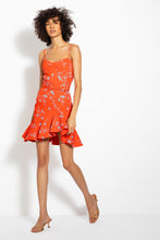 NICHOLAS Arielle Dress in Poppy Red 01