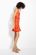 NICHOLAS Arielle Dress in Poppy Red Side