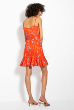 NICHOLAS Arielle Dress in Poppy Red Back