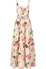 Tiered Maxi Dress - Powder Multi